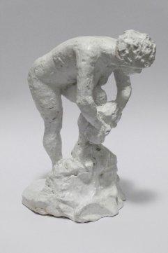 Figur I Gips, lackiert Höhe 16cm