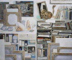 A-077 Atelierwand 1964 74,5x89cm