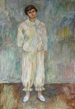 MX-012 Anne im Pyjama 1951 60x40cm