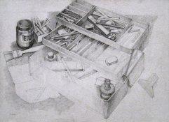 020-A Bleistift 43x61cm